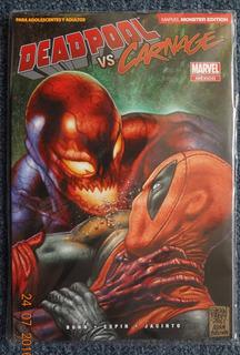 Comic Deadpool Vs Carnage Nuevo Y Sellado Marvel Monster Ed.