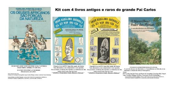 Livro Candomblé,ifá Raros E Antigos, Kit C/4 Livros Revelaçã