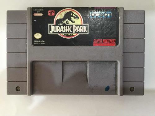 Jurassic Park Super Nintendo