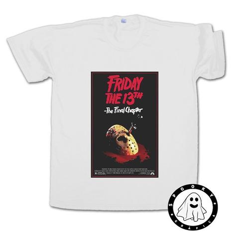 Remera Martes 13  /friday The 13th  Cine Películas Horror