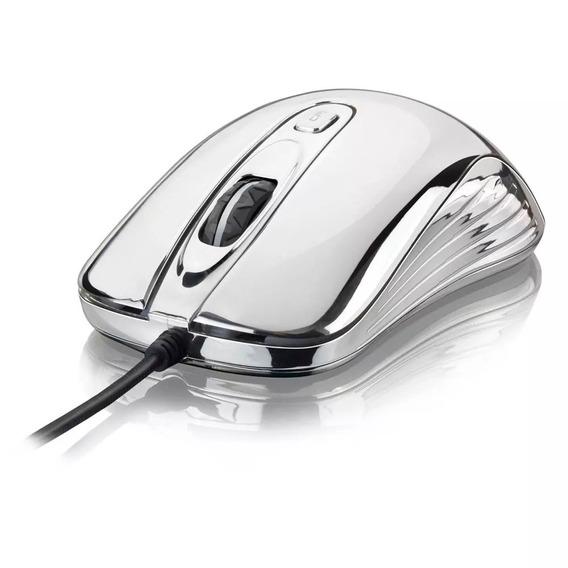 Mouse Chrome Warrior 3 Velocidades Led 7 Cores Mo228
