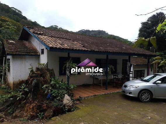 Sítio Maravilhoso, Com 2 Casas À Venda, 121.000 M² Por R$ 350.000,00 - Horto Florestal - Ubatuba/sp - Si0018