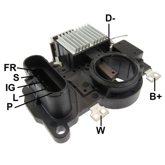 Regulador De Voltagem Scania Serie 5/6/p/g/t/r Euro V Ga791