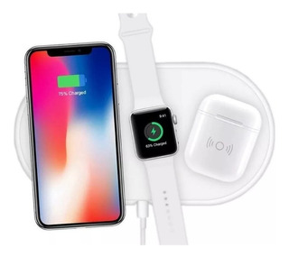 Carregador Wireless - 3 Em 1 - Apple Watch, Airpod E iPhone
