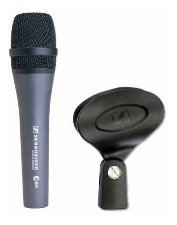 Microfone Supercardioide Sennheiser E845 Original Novo