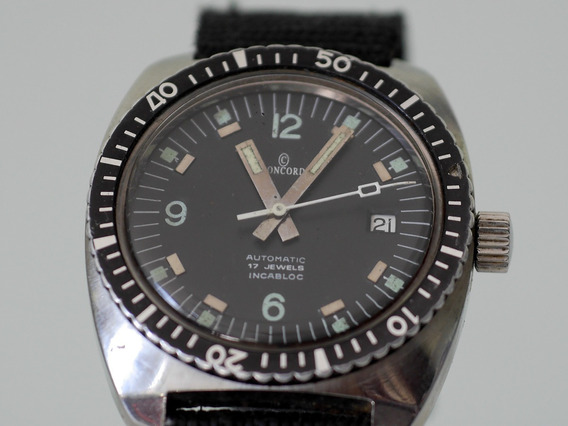 Relógio Concord Diver - Vintage - Super Raro - Eta Cal. 2782