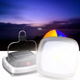 Reflector Solar Recargable Lampara Camping Linterna