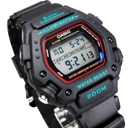 Relógio Casio Dw290 Cronômetro / Timer Prova Dágua 200 Mts