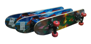 Patineta Mini Skate 60cm Ideal 5 A 10 Años / Open-toys 125