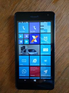 Smartphone Celular Microsoft Lumia 535 Usado Cor Preto.