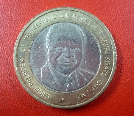 Kenia Moneda Bimetalica 40 Años De Indepen 40 Shillings 2003