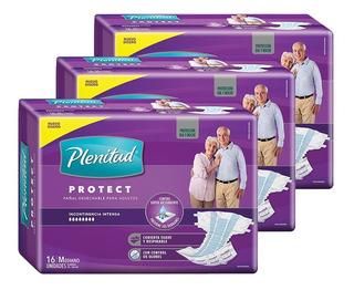 Plenitud Pañal Para Adultos Protect X 16 Pack X 3