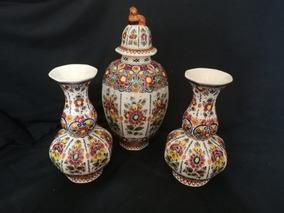 Vasos Decorativos Holandeses Afima Pintados À Mão