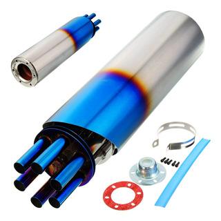 ebtools 51/mm Universal Moto acero inoxidable de fibra de carbono modifi/é Tubo de escape de silencioso con DB Killer