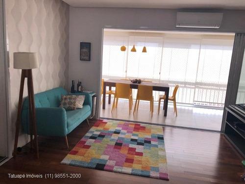 Apartamento Rua Renato Rinald - 127m²