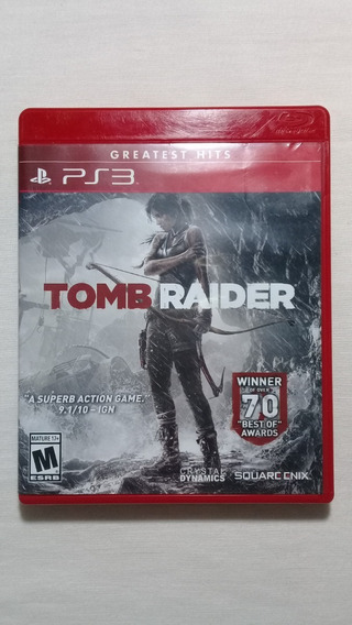 Tomb Raider Ps3 Completo Americano