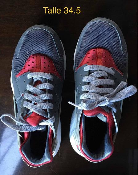Zapatillas De Nena Nike Talle 34.5
