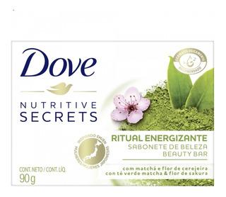 Jabon Dove Ritual Energizante Té Verde Matcha Y Sakura 90g