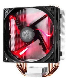 Cooler Cpu Cooler Master Hyper 212 Led Rojo Intel Amd