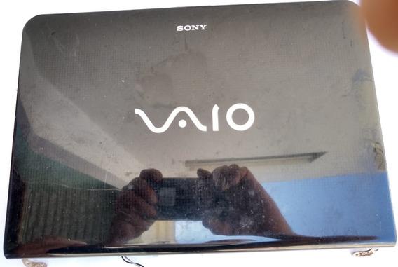 Carcaça Tampa De Tela Notebook Sony Pcg 61211m - Usado