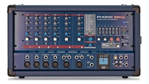 Consola Potenciada Phonic Powerpod 630rw Powerpod630rw 300w
