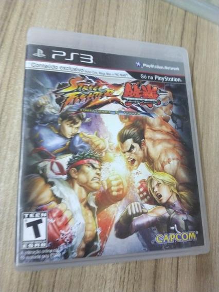 Street Fighter X Tekken Ps3 Midia Física Usado Ps3