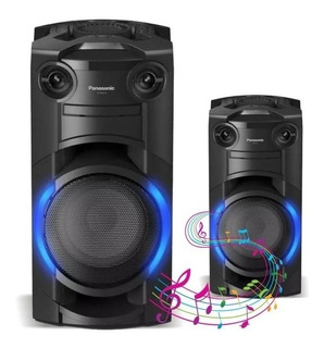 Minicomponente Bluetooth Panasonic Sc-tmax10 Karaoke Cd Dj