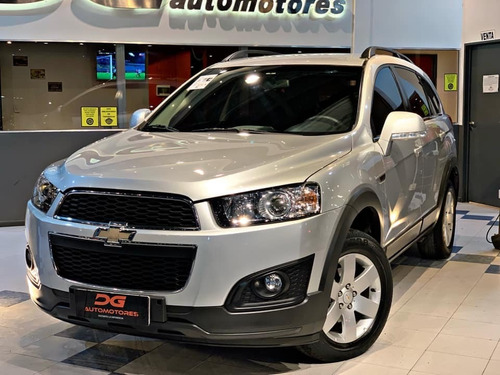 Chevrolet Captiva Ls 2.4n 7 Plazas 2016 78.000km Gris
