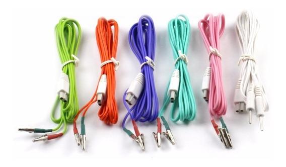 Kit 6 Cables Electroestimulador Kwd-808i Gran Muralla