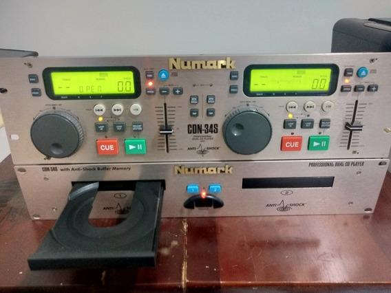 Cd Duplo Numark Cdn-34s