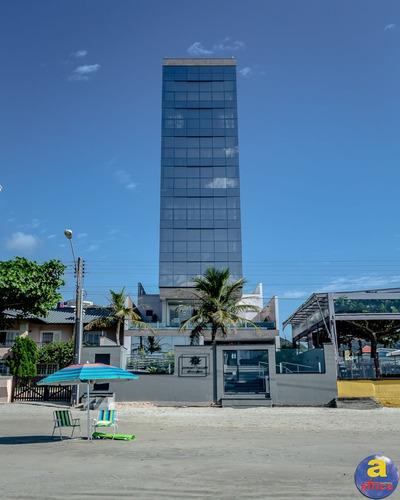 Imagem 1 de 20 de Apartamento Pé Na Areia 4 Suítes Sendo 1 Master, 3 Vagas De Garagem No Centro Em Itapema/sc - Imobiliária África - Ap00324 - 69664493