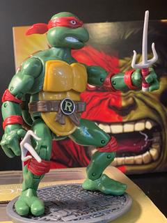 Tortugas Ninjas Con Accesorios 17 Cm Totalmente Articuladas