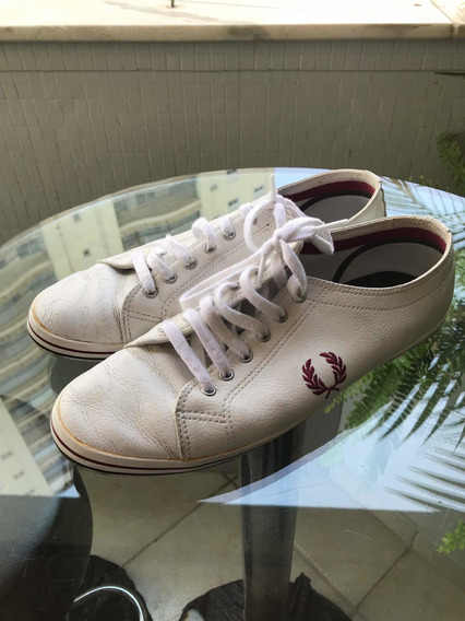 Tenis Fred Perry Branco