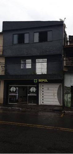 Casa Com 3 Dormitórios À Venda Por R$ 450.000,01 - Jardim São Gabriel - São Paulo/sp - Ca0542
