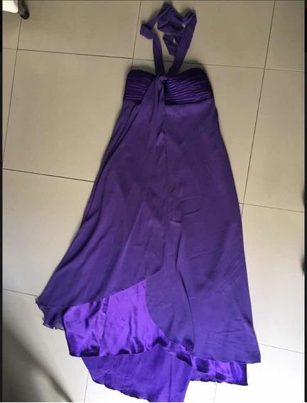 Vestido De Fiesta Talla 4 Violeta