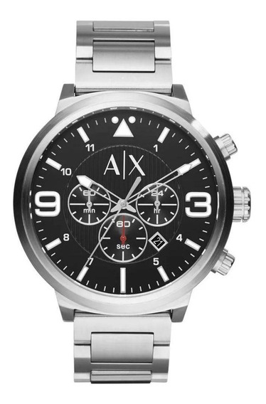 Relógio Armani Exchange Atlc Cronógrafo Ax1369/1pi - Usado