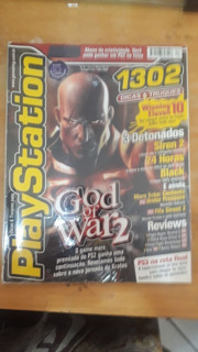 Revista Playstation God Of War2 Original