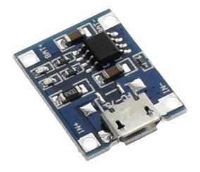 Módulo De Carga + Bateria 3,7v 200mah Projetos Com Arduino