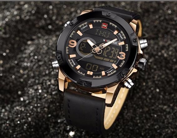 Novo Relógio Naviforce Original Na Caixa Garantia De 6 Meses