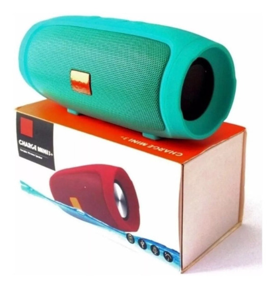Caixa De Som Mini Charge 3+ Portátil Wireless Bluetooth