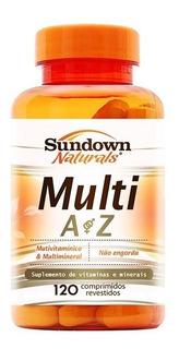 Multivitamínico Az Multi A Z Sundown Naturals Importado 120c