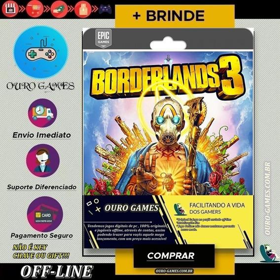 Borderlands 3 Original Epic Games Offline