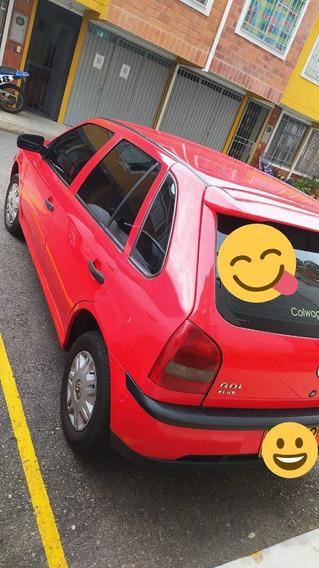 Volkswagen Gol 2005 Rojo 5 Puertas