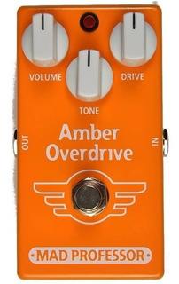 Pedal Mad Professor Amber Overdrive Para Guitarra
