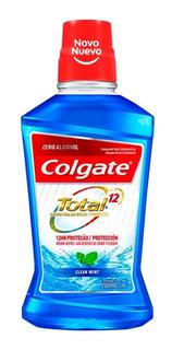 Colgate Enjuague Bucal Total 12 Clean Mint 250ml