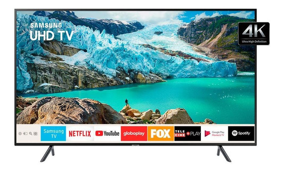 Smart Tv 4k Samsung Led 65 , Uhd, Hdmi, Wifi, Usb - 65ru7100