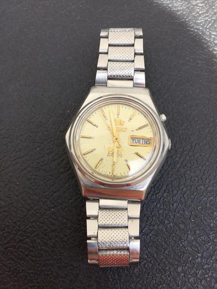 Relógio Masculino Orient Automático Antigo