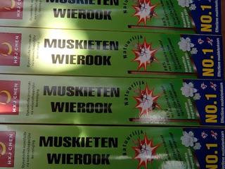 Incenso Mosquito Wierook Koning 10 Caixa Mata Tudo Original