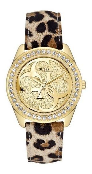 Relógio Guess Feminino W0627l7 Com Cristais - 40 Mm Original