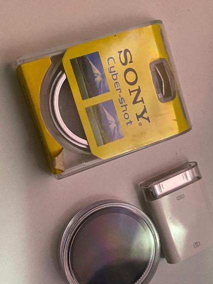 Filtro Tampa Protetor Uv 37mm Para Filmadora Camera Sony